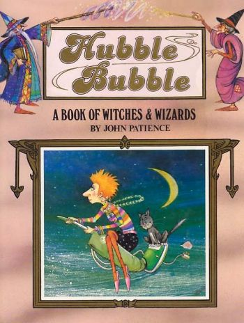 Cover of Hubble Bubble from the Happy Endings series, written and illustrated by John Patience
