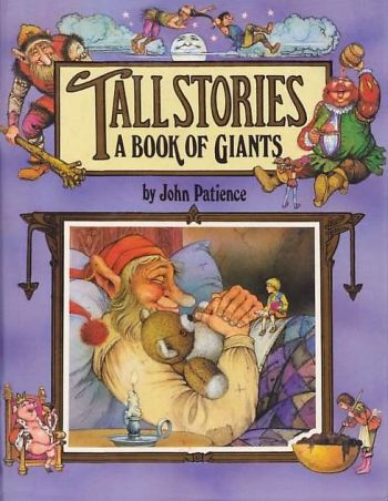 Cover of Tall Stories from the Happy Endings series, written and illustrated by John Patience