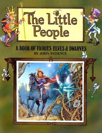 Cover of The Little People from the Happy Endings series, written and illustrated by John Patience