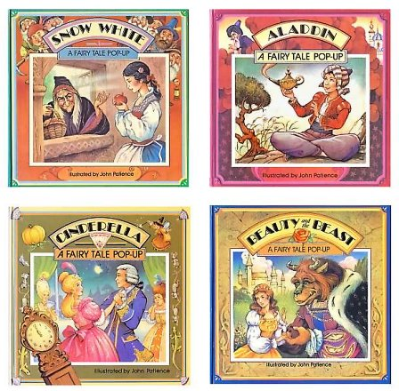 Cover of the Series A Fairy Tale Pop-up, retold and illustrated by John Patience