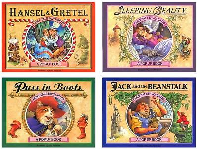 Cover of the Series 1 of Fairy Tale Favourites Pop-ups, retold and illustrated by John Patience