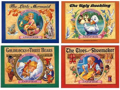 Cover of the Series 2 of Fairy Tale Favourites Pop-ups, retold and illustrated by John Patience