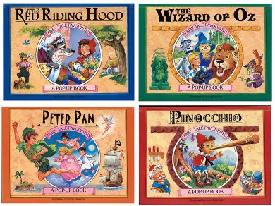 Cover of the Series 3 of Fairy Tale Favourites Pop-ups, retold and illustrated by John Patience