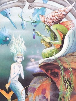 Illustration by John Patience for The Little Mermaid